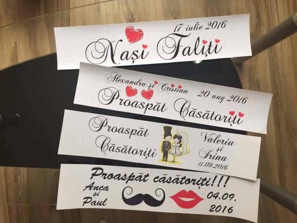 Placute inmatriculare Prospat Casatoriti - Nasi Fericiti