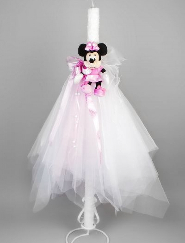 Lumanare botez Minnie Mouse