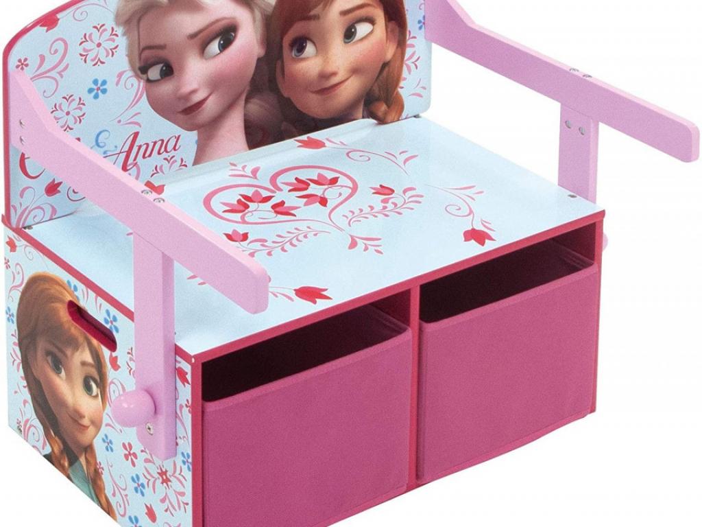 Mobilier 2 in 1 pentru depozitare jucarii Frozen
