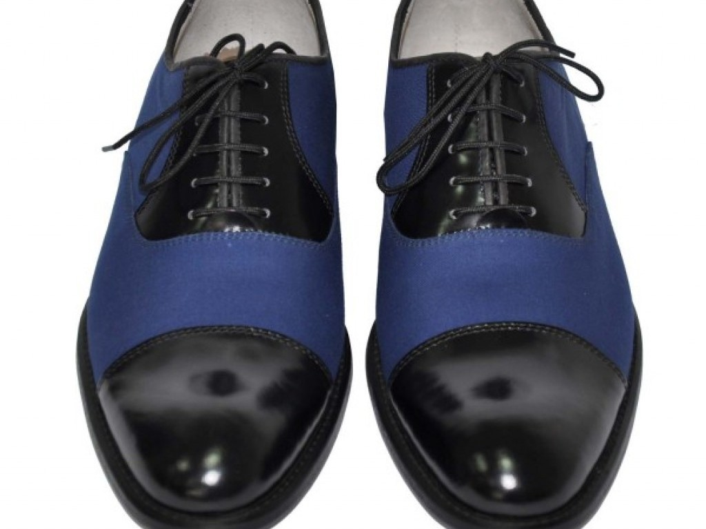 Rever wool & leather Ceremonial Blue