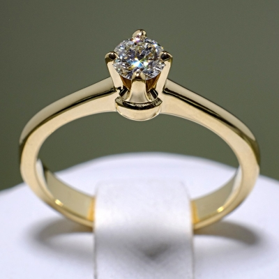 Inel de logodna din Aur cu diamant 117