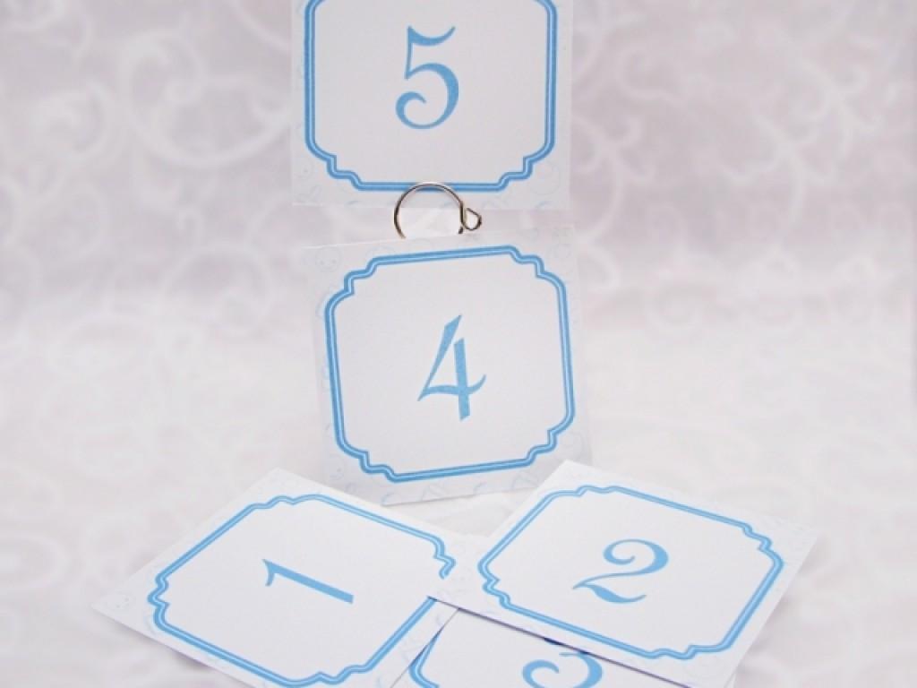 Numar de masa Blue Toys