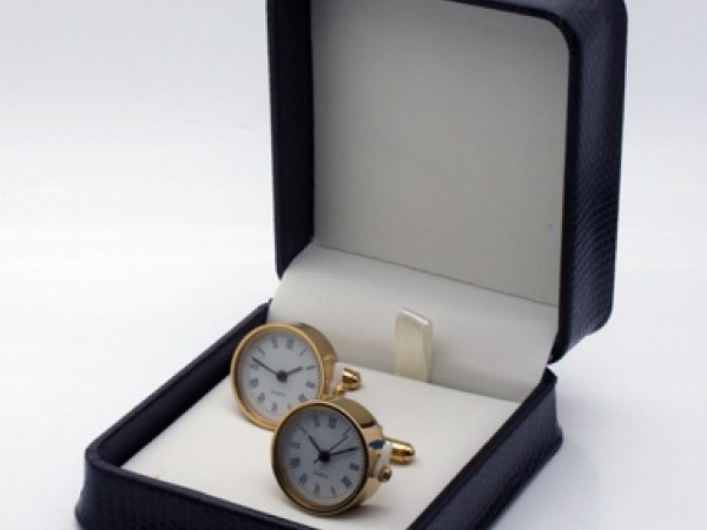 Butoni camasa cu ceas functional