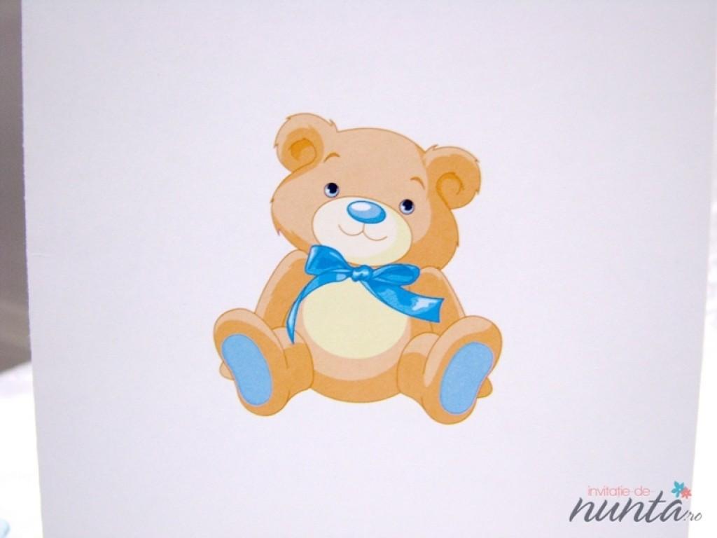 Meniu de botez Blue Teddy
