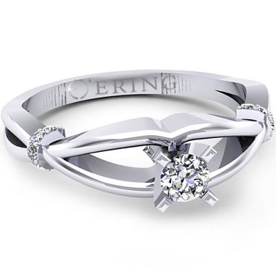 Inel logodna L48ADI inel cu diamant
