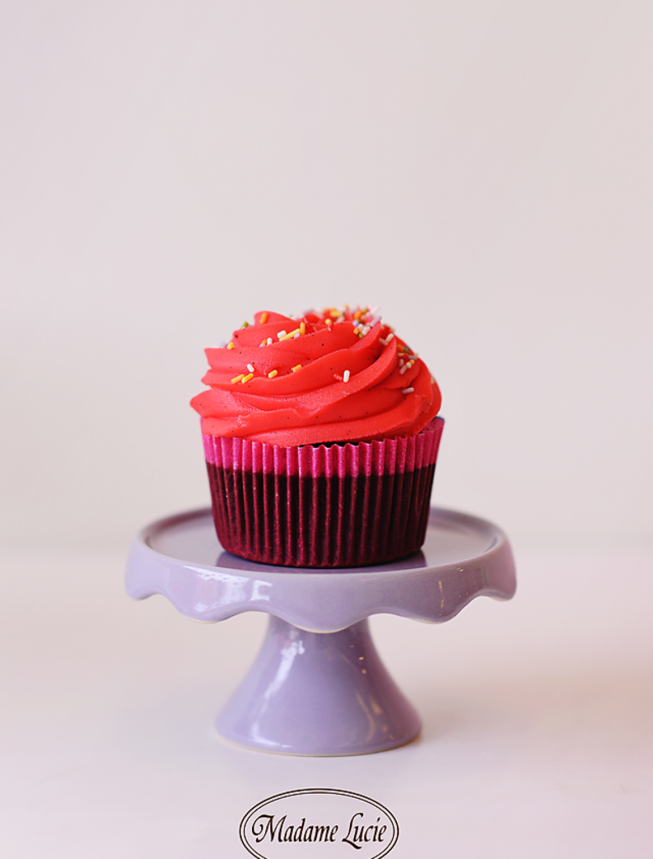 Cupcake Zmeura