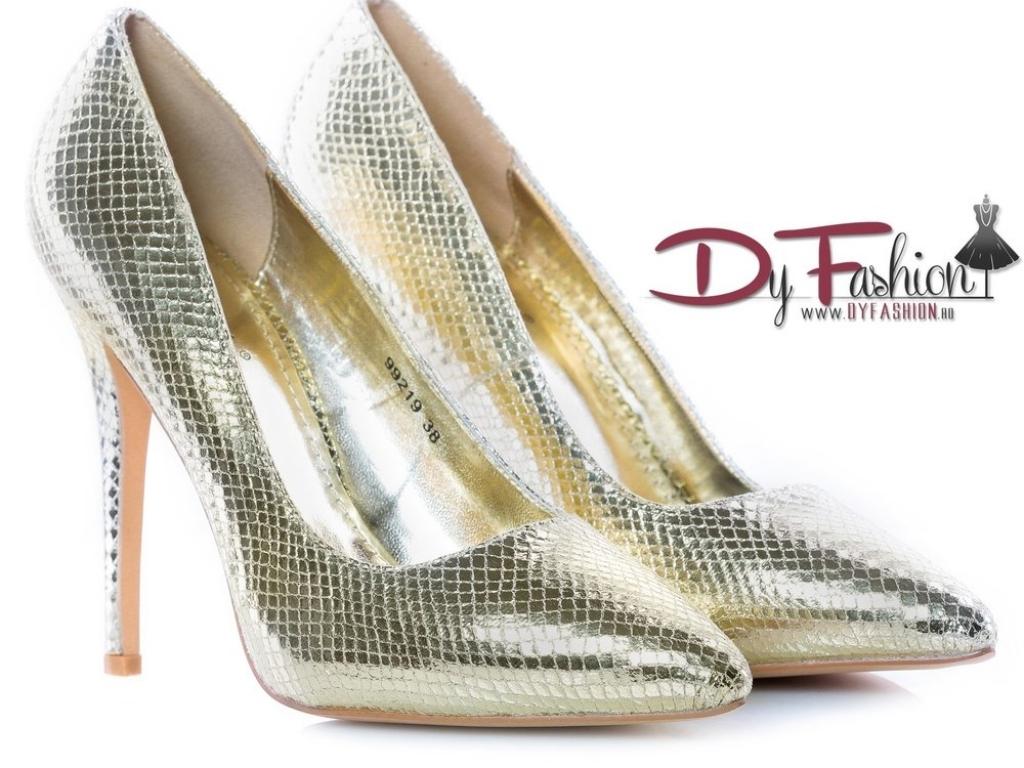 Pantofi Aurii Clara 99219G