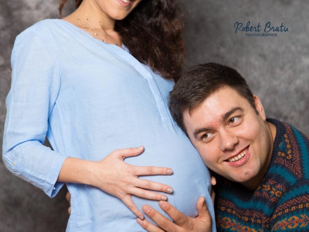Sedinta foto pentru viitoarele mame