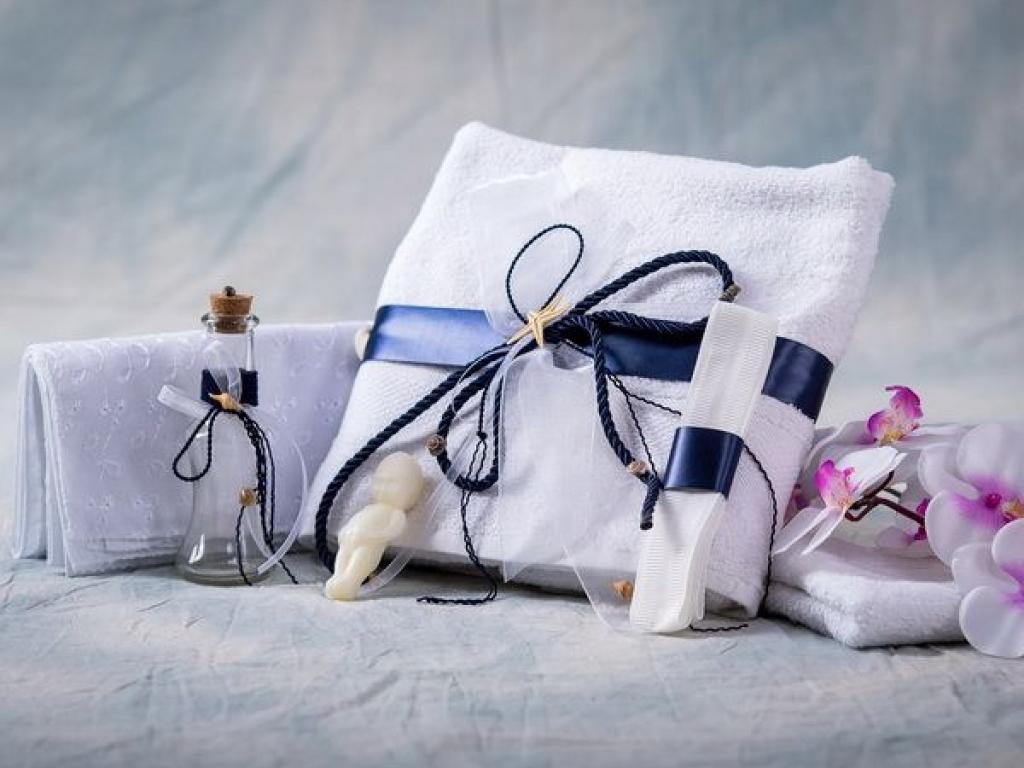 Trusou botez marin bleumarin