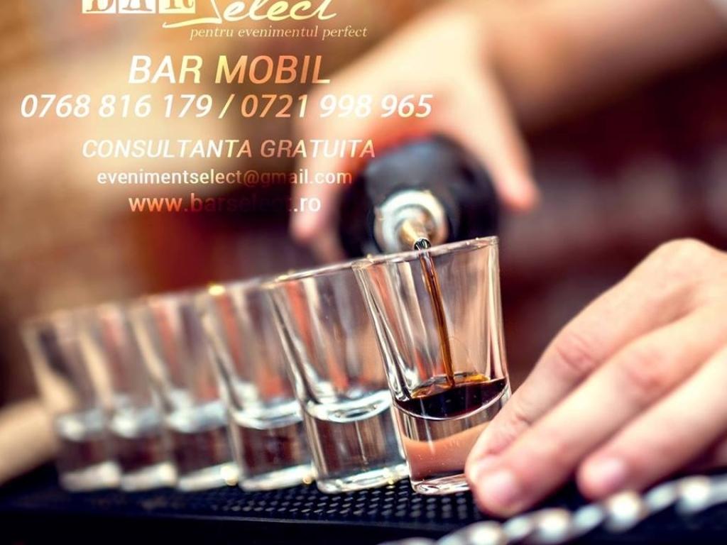 Bar Select - Cocktail Bar evenimente