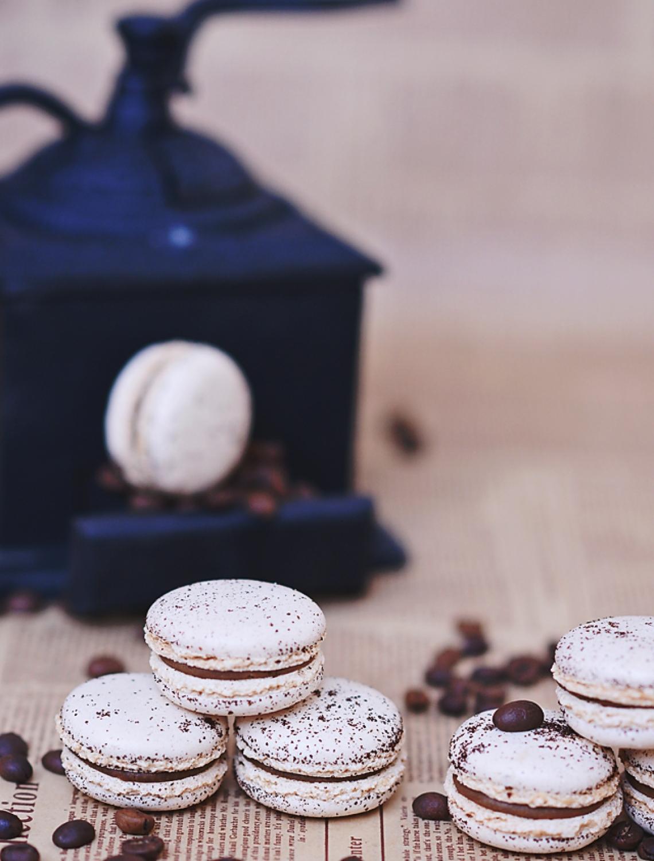 Macaron Cafea