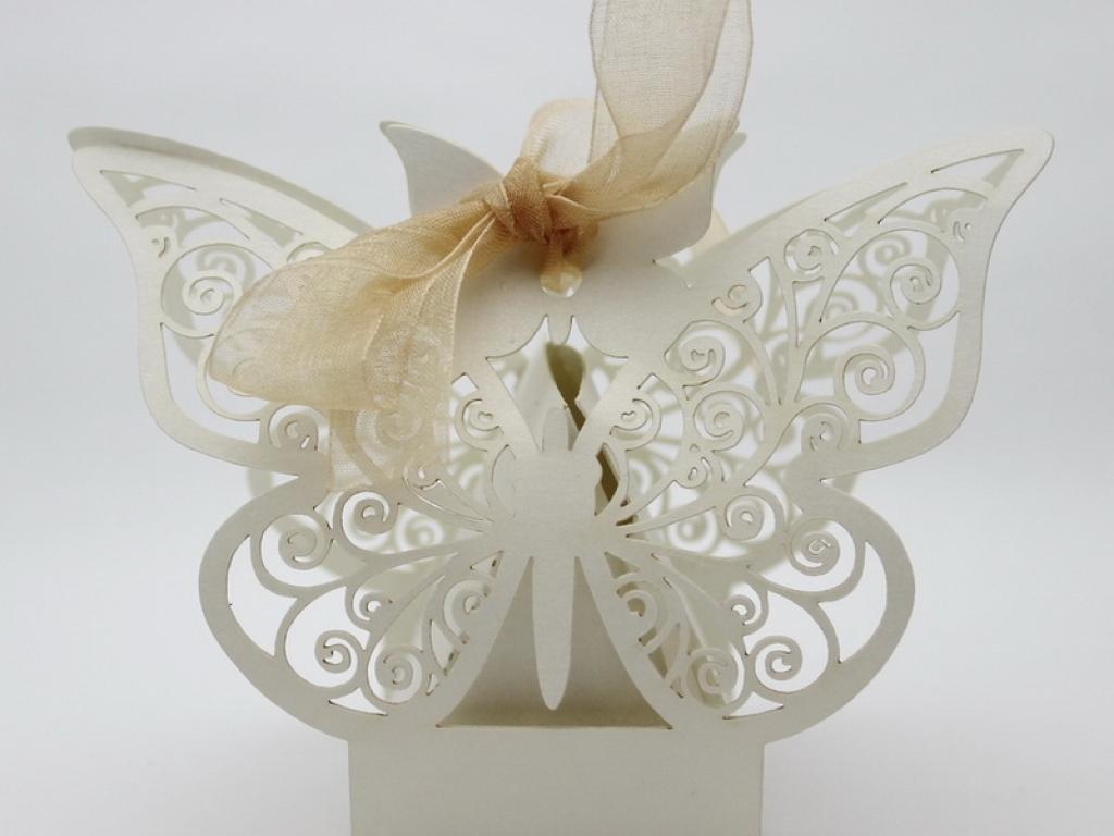 Cutiute fluturi marturii nunta DA004