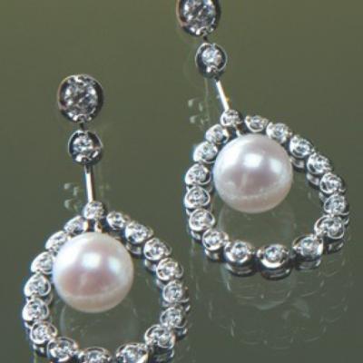 Cercei cu Perle Model WTE006W