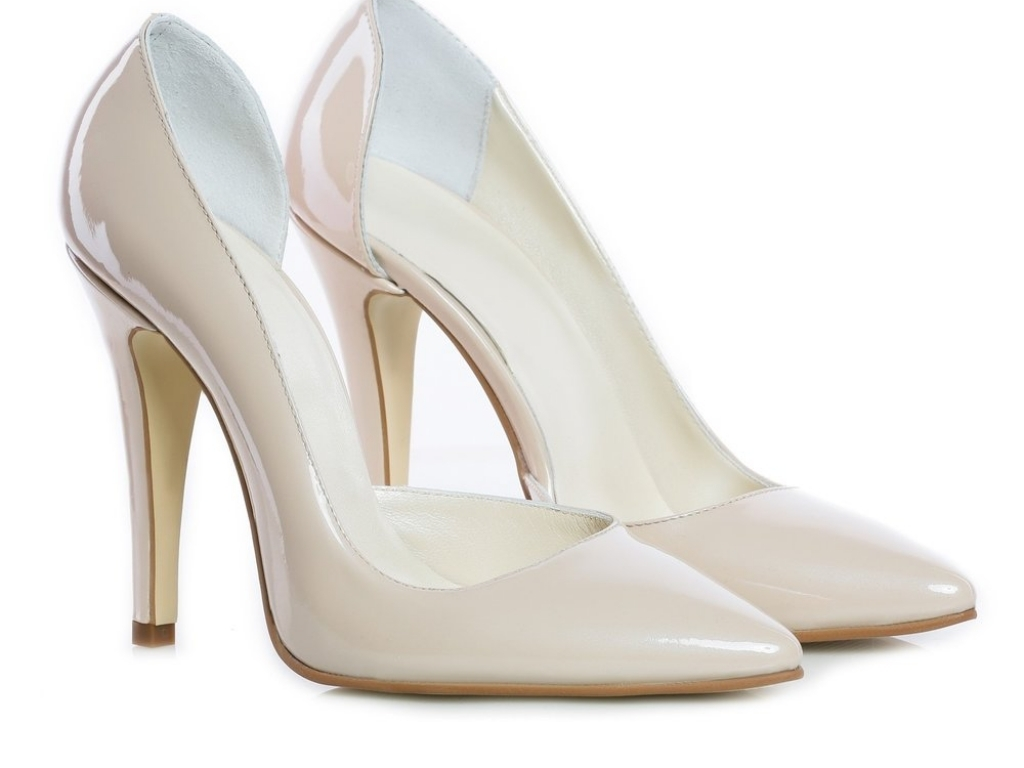 Pantofi Piele Naturala Teo Nude
