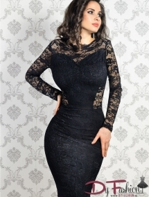 Rochie Passional Black  LC6755