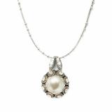 Pandantiv cu lant Casablanca placat cu argint 925 | 5070-1006sp
