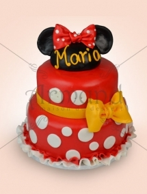 Tort de botez Minnie Mouse