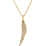 Pandantiv din aur cu diamante 86433