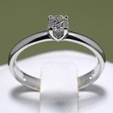 Inel de logodna din aur cu diamant i022