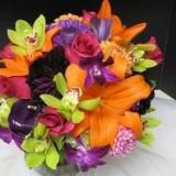 Buchete flori multicolore