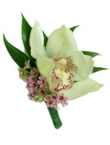 Cocarda nunta orhidee