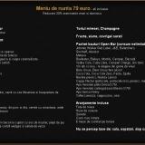 Meniu de nunta 79 euro