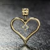Pandantiv din aur cu diamant pan867