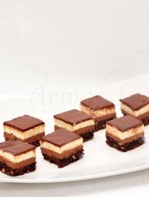 Mini prajituri Brown & Creamy