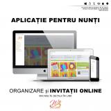 Invitatii online interactive & organizator nunta