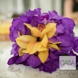 Buchet de mireasa din orhidee