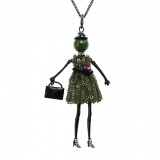Bambola in Stile Beverly Hills - Black-Green
