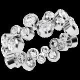 Verigheta cu Diamante Model RDW135W