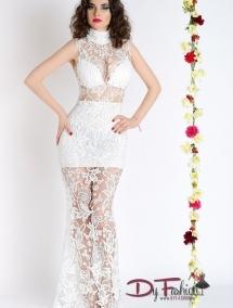 Rochie Pure White LC60066-1