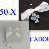 50 cruciulite botez baiat cadou cutie cruciulite