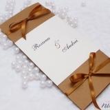 Invitatie de nunta Brown Delight