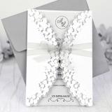Invitatie de nunta White Bubbe