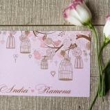 Invitatie de nunta vintage