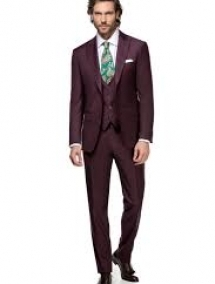 EDVIN THREE PIECE BORDEAUX