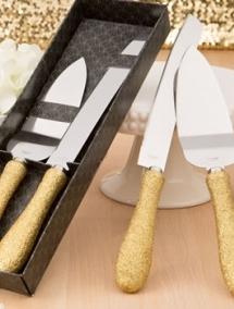 Set de tort auriu cod K2472