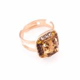 Inel Dream placat cu aur 24K | 7040/1-1018RG