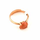 Inel Cinnamon placat cu aur 24K | 7606-9RRG