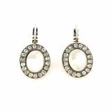 Cercei Silk placati cu argint 925 | 1130-1049SP6