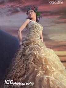 Rochie mireasa cu cristale