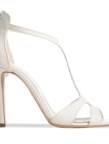 Sandale albe de mireasa Chandelier