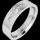 Verigheta/Inel cu Diamant Model RDWG050PL