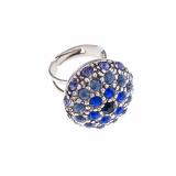 Inel Blue Night placat cu argint 925   7020-1026SP